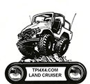 TPI 4×4 Landcruiser Parts and Accessories Retina Logo
