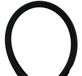 FJ40 AMBULANCE DOOR GLASS SEAL, 1975-83