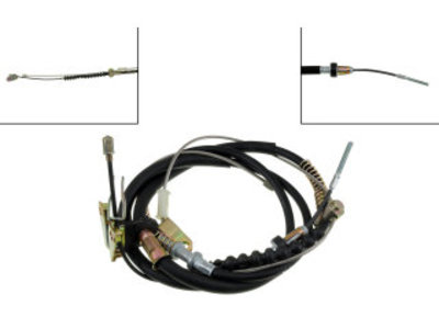 FJ60 FJ62 PARKING BRAKE CABLE, 8410-90