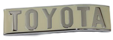 FJ40, REAR TOTOTA EMBLEM, UP TO 7412
