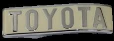FJ40, REAR TOTOTA EMBLEM, 1975-7812