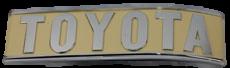 FJ40, REAR TOTOTA EMBLEM, 1979-83