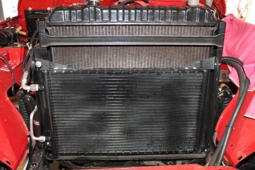 FJ40 AIR CONDITIONER, F&2F ENGINE