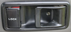 FJ40 DOOR BEZEL, 1975-83