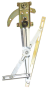 FJ40 WINDOW REGULATOR, PASS SIDE, 1975-83