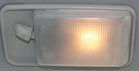 FJ60 FRONT INTERIOR LIGHT, 8411-8707