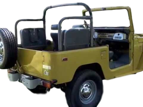 FJ40 TPI HEAVY-DUTY ROLL LIGHT BAR