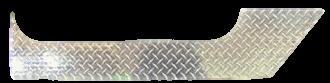 FJ40 FRONT DOOR LOWER ROCKER PANELS, DIAMOND