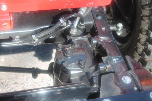 FJ40 POWER STEERING BOX, 4 BOLT