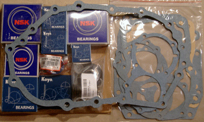 FJ60 FJ62 TRANSMISSION OVERHAUL KIT, 4 SPEED, 8605-8707