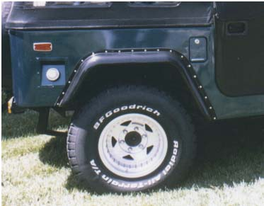FJ40 FENDER 2'' FLAIRS