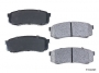 FJ80 REAR BRAKE PADS, FULL FLOAT