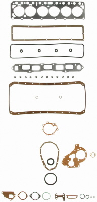 FJ40 ENGINE GASKET KIT, 1975-7607