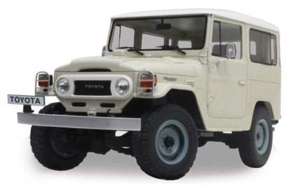 FJ40 TOY, 1/18 SCALE, REPLICA