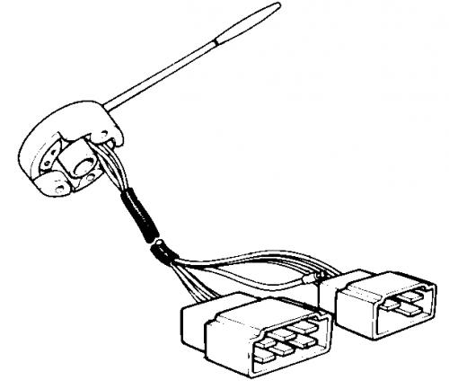 FJ40 BLINKER SWITCH, 7209-7708