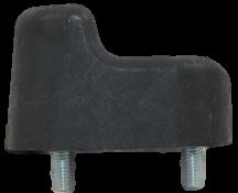 FJ40 WINDSHIELD BUMPER, 7109-7412