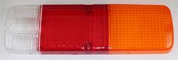 FJ40 TAIL LIGHT LENS, DRIVERS SIDE, 7309-83