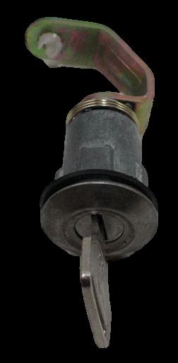 FJ40 REAR HATCH LOCK, UP TO 7412