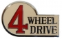 FJ40, REAR 4WD EMBLEM, UP TO 7812