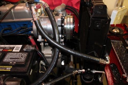 FJ40 AIR CONDITIONER, F&2F ENGINE