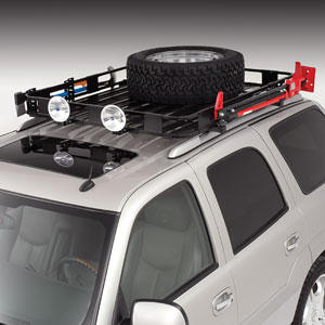TIRE CARRIER FOR SAFARI RACK