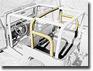 FJ40 TPI FRONT CAGE