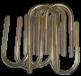 FJ40 TPI U-BOLT KIT, 8008-83